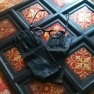 Vintage Italian Leather ladies gloves
